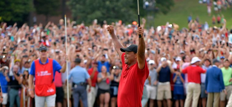 PGA Tour: Tiger Woods Claims Tour Championship