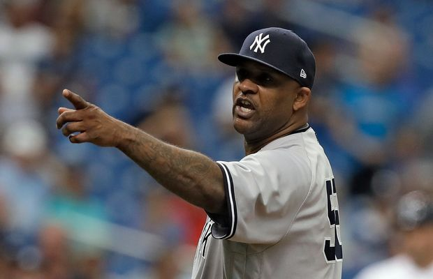 C.C. Sabathia Costs Himself $500K By Getting Ejecting For Throwing At Jesus Sucre