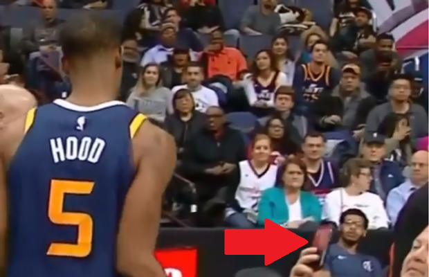 WATCH: Rodney Hood Slaps Phone From Fan's Hand After He Was Ejected