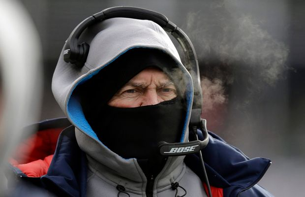 Bill Belichick Demands Players Brave Blizzard-Like Conditions To Attend Practice