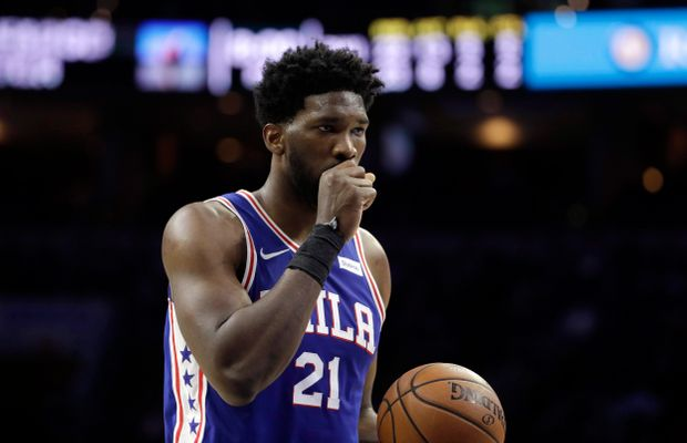 "Joel Embiid Says He's ""Passing"" on Rihanna After Finally Being Named an All-Star"