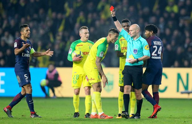 WATCH: French Soccer Ref Issues Stupidest Red Card of All-Time
