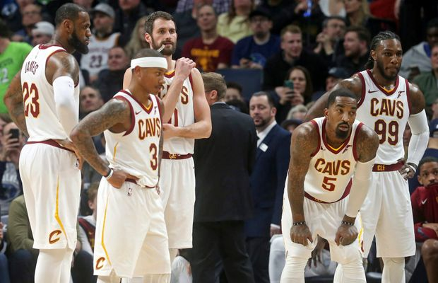 Cavs Players Are Accusing Kevin Love of Faking Sick To Leave a Game Early