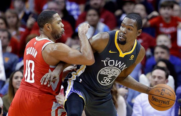Kevin Durant Roasts Clint Capela For… Having An Easy Job With The Rockets?