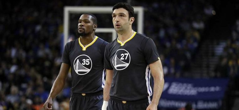 "Kevin Durant on Zaza Pachulia: ""He's Not Dirty, Just Clumsy"""