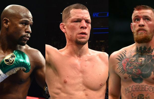 McGregor, Mayweather, and Diaz Are Talking Mad Trash on Social Media