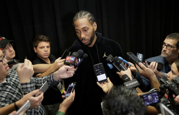 There's Something Strange Going On With Kawhi Leonard and The Spurs