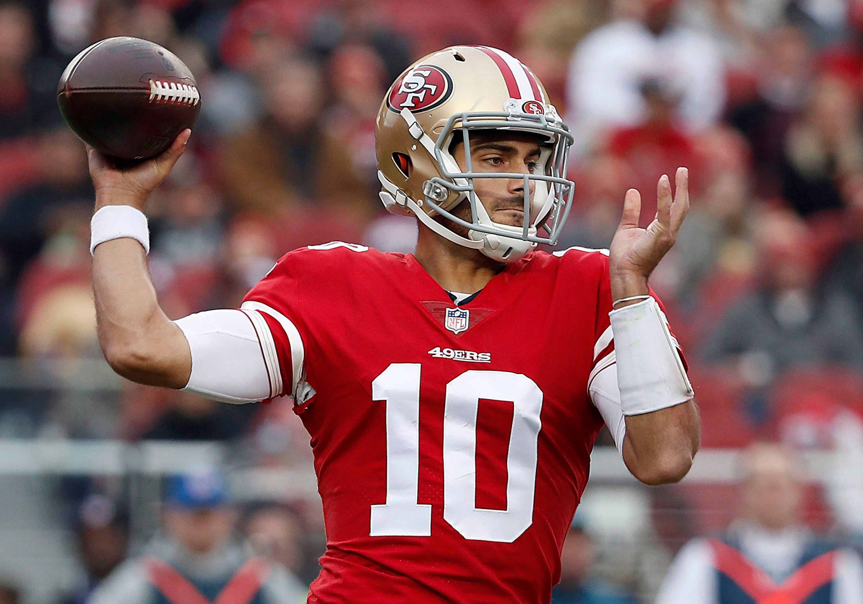 Jimmy Garoppolo: Is he a fantasy starter with the 49ers