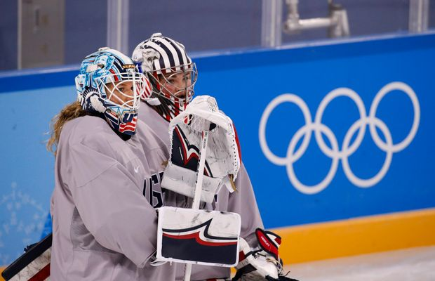 Hockey Goalie Might Have To Remove Statue of Liberty From Her Helmet For The Most Ridiculous Reason