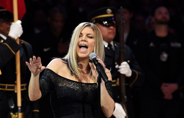 Fergie Issues Statement/Apology For That Controversial National Anthem Rendition at the NBA All-Star Game