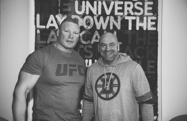 Dana White Thinks Brock Lesnar Will Fight In The UFC Again