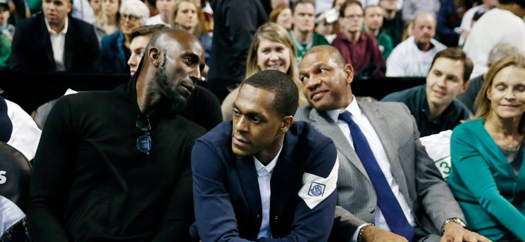 "Rajon Rondo Rips Ray Allen's New Book: ""He Must Need The Money"""