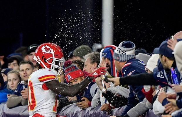 Fan Who Threw Beer At Tyreek Hill Has Been Arrested