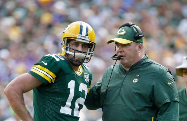 Aaron Rodgers Promises There Isn't a Problem With Head Coach Mike McCarthy