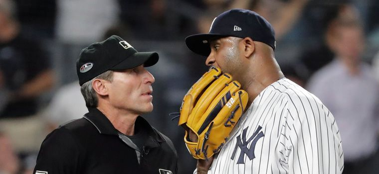 MLB Playoffs: Red Sox Eliminate Yankees; Sabathia Rips Ump Hernandez